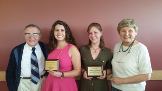 Scholarships recipients with Griswolds