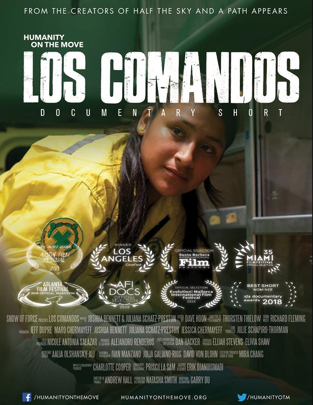 Los Comandos poster