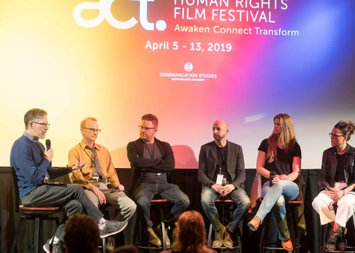 Filmmaker panel at ACT Human Rights Film Festival