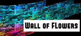 Wall of Flowers logo