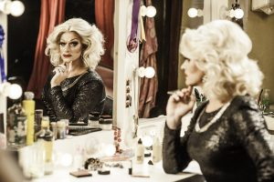 Film still from Queen of Ireland featuring famous drag queen Panti Bliss